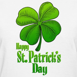Happy St Patrick's Day - Women's T-Shirt