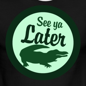 Later Alligator - Men's Ringer T-Shirt