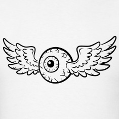 Winged Eye VECTOR T-Shirts
