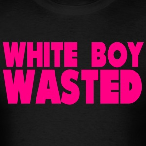 White Boy Wasted T-Shirts - Men's T-Shirt