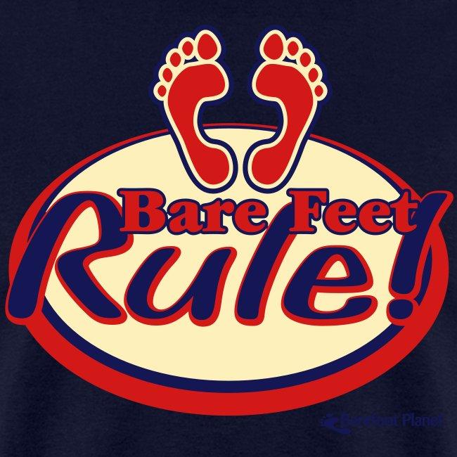 Bare Feet Rule - Men's Tee