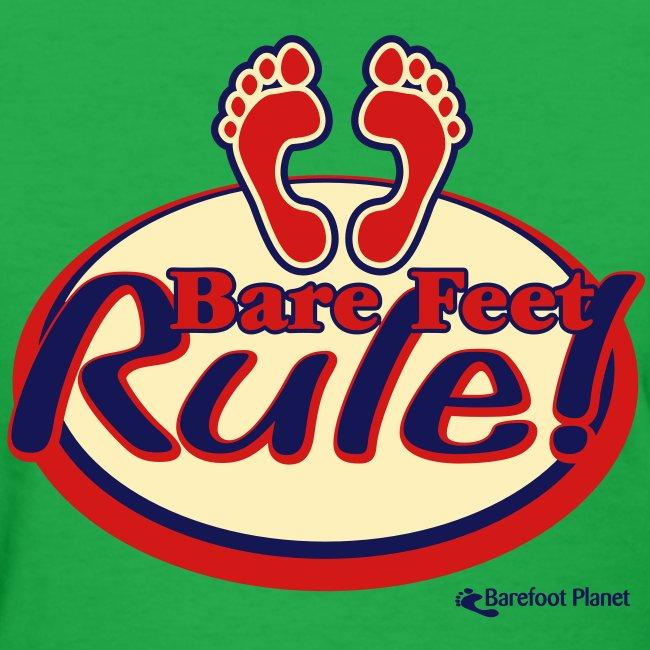 Bare Feet Rule - Women's Tee