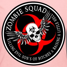 Zombie Squad 2 Ring Patch Revised Long Sleeve Shirts