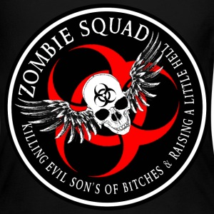 Zombie Squad 2 Ring Patch Revised Long Sleeve Shirts - Women's Long Sleeve Jersey T-Shirt