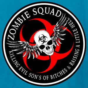 Zombie Squad 2 Ring Patch Revised Kids' Shirts - Kids' T-Shirt