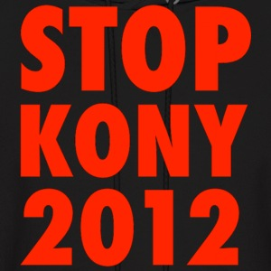 KONY 2012 STOP KONY SWEATSHIRT UGANDA INVISIBLE CHILDREN HELP THE CAUSE - Men's Hoodie