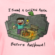Design ~ Women's T-Shirt: Steve's Golden Apple