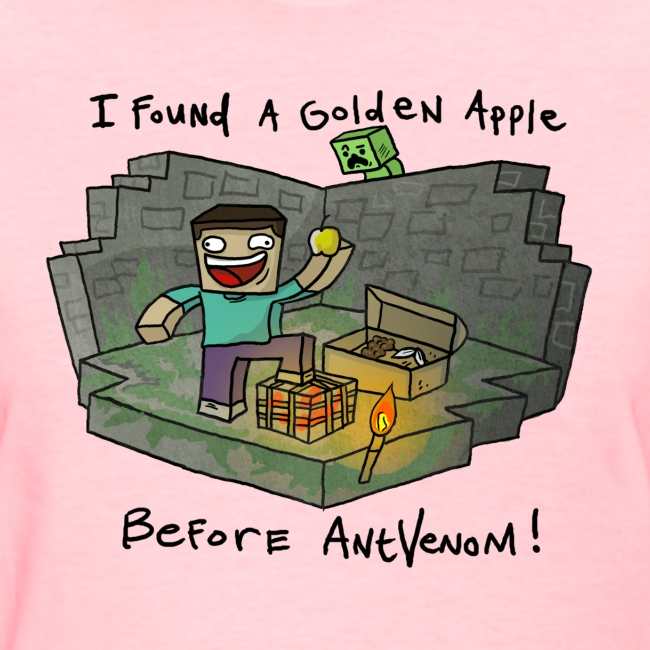 Women's T-Shirt: Steve's Golden Apple