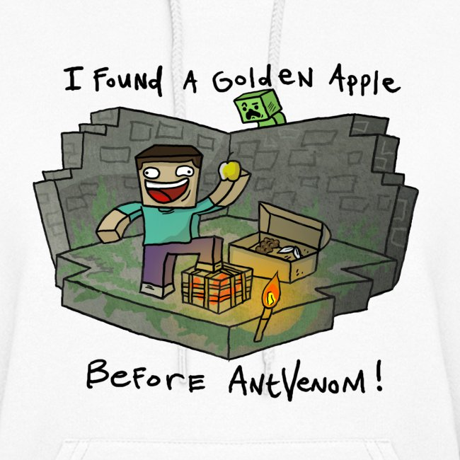 Women's Hoodie: Steve's Golden Apple
