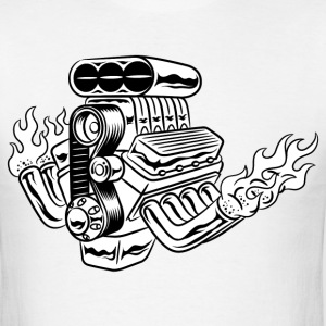 Hot Rod HD Design T-Shirts - Men's T-Shirt