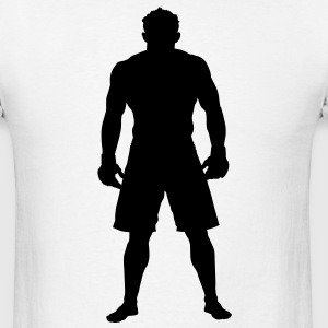MMA Fighter HD VECTOR T-Shirts - Men's T-Shirt