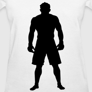 MMA Fighter HD VECTOR Women's T-Shirts - Women's T-Shirt