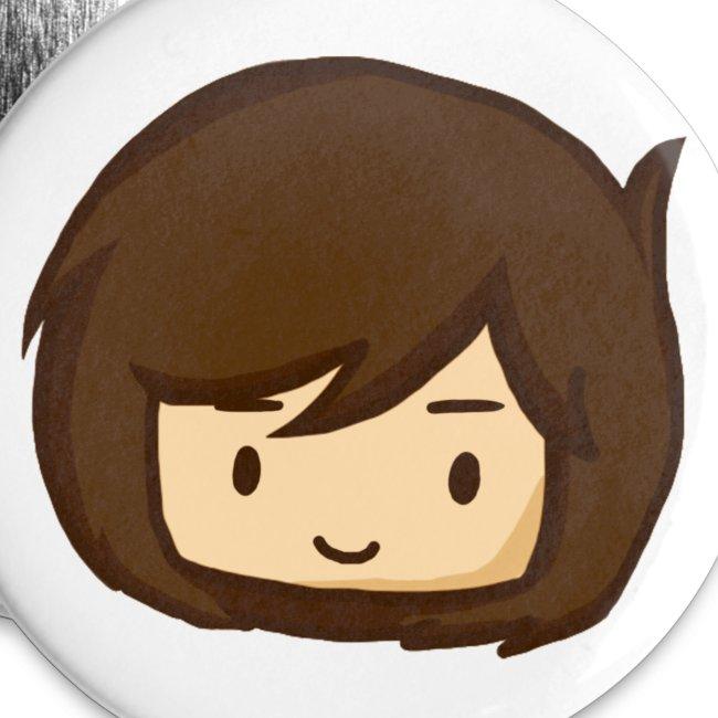 Toby Smiling Chibi Badge (5 Pack)