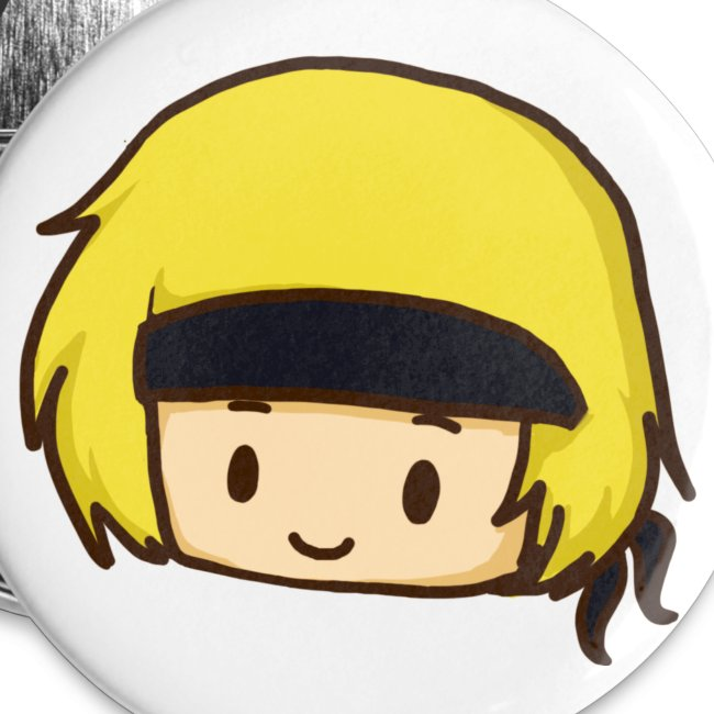 Martyn Smiling Chibi Badge (5 Pack)