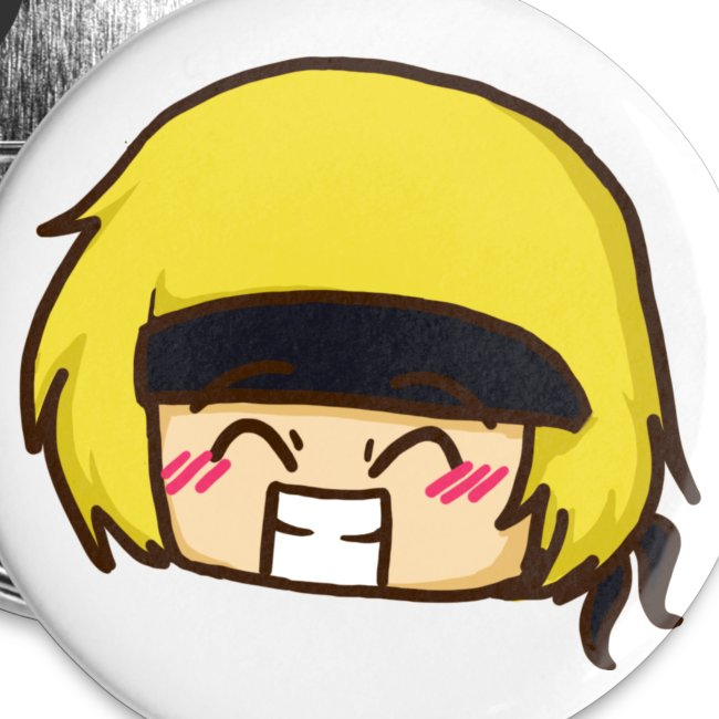 Martyn Grinning Chibi Badge (5 Pack)