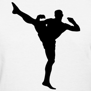 MMA Kick HD Design Women's T-Shirts - Women's T-Shirt
