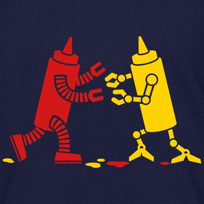 Navy Ketchup vs Mustard