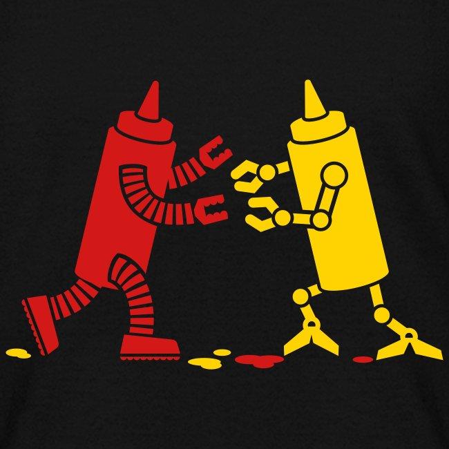 Black Ketchup vs Mustard