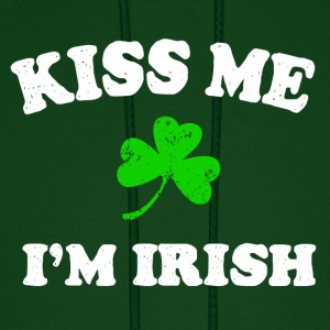 Irish Kiss Me Hoodies - Men's Hoodie