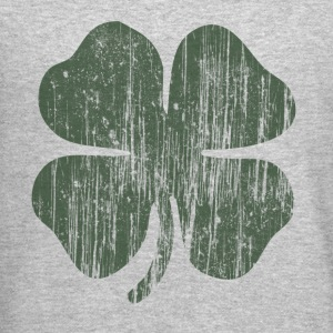 Grunge Green Clover Long Sleeve Shirts - Crewneck Sweatshirt
