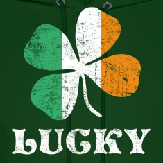 Lucky Irish Flag Hoodies