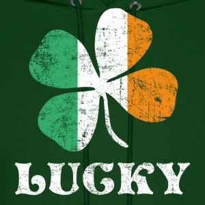 Lucky Irish Flag Hoodies - Men's Hoodie