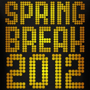 Spring Break 2012 Neon Design T-Shirts - Men's T-Shirt