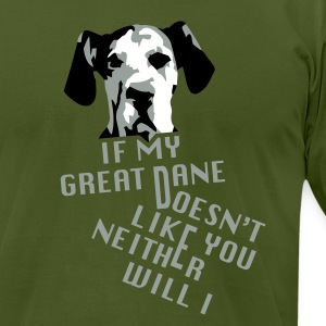 Don't Like My Great Dane? T-Shirts - Men's T-Shirt by American Apparel