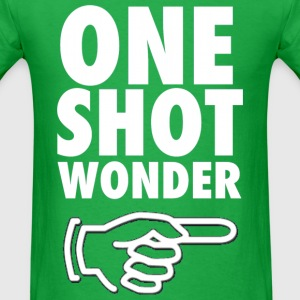 One Shot Wonder Funny Party Drinking Design T-Shirts - Men's T-Shirt