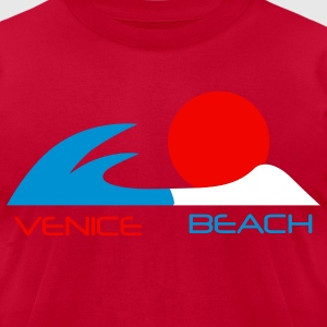 venice beach california - Men's T-Shirt by American Apparel