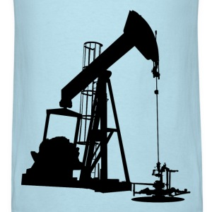 Oil Pump HD Design T-Shirts - Men's T-Shirt