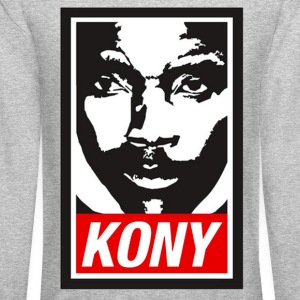 Kony 2012 (Obey Style) Long Sleeve Shirts - Crewneck Sweatshirt