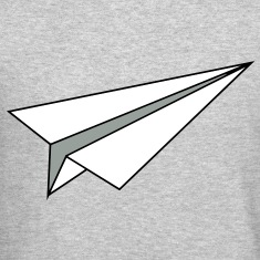 Paper Plane Long Sleeve Shirts