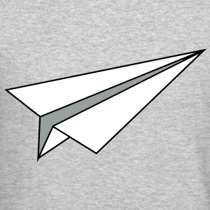 Paper Plane Long Sleeve Shirts - Crewneck Sweatshirt
