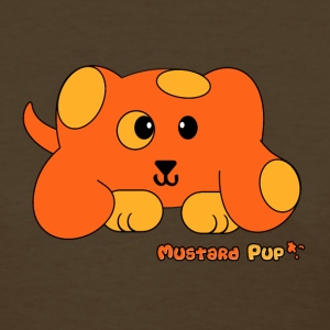 Mustard Pup Pudgie Pet - Designs by Melody Women's T-Shirts - Women's T-Shirt