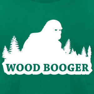 Wood Booger (White) - Men's - Men's T-Shirt by American Apparel