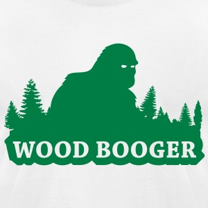 Wood Booger (Green) - Men's - Men's T-Shirt by American Apparel