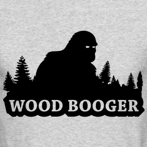 Wood Booger (Black) - Long Sleeve - Men's Long Sleeve T-Shirt by Next Level