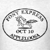 Pony Express, distressed - Men's T-Shirt