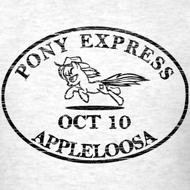 Pony Express, distressed