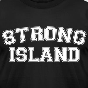 Strong Island T-Shirts - Men's T-Shirt by American Apparel
