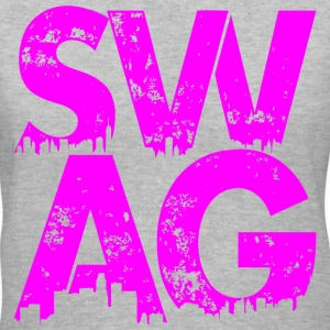 Pink Swag T-Shirt - Women's V-Neck T-Shirt