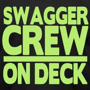 SWAGGER CREW ON DECK - Men's T-Shirt by American Apparel
