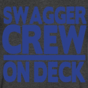 SWAGGER CREW ON DECK T-Shirts - Men's V-Neck T-Shirt by Canvas