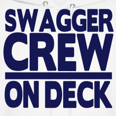 SWAGGER CREW ON DECK Hoodies