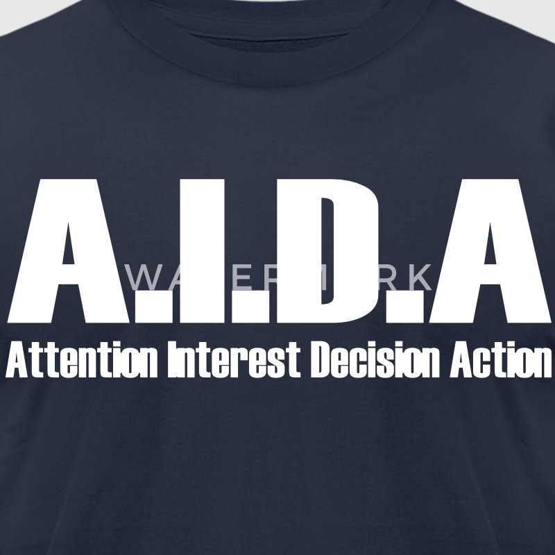 The Art of Selling | AIDA T-Shirt - Men's T-Shirt by American Apparel