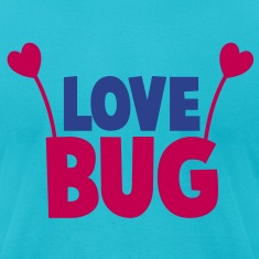 love bug cute with heart shaped antennae T-Shirts