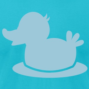 little duckling simple and cute T-Shirts - Men's T-Shirt by American Apparel