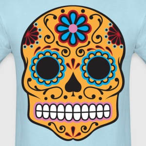Sugar Skull HD Design T-Shirts - Men's T-Shirt