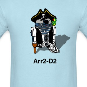 Pirate Droid Arr2-D2 T Shirt for fans of Star Wars - Men's T-Shirt
